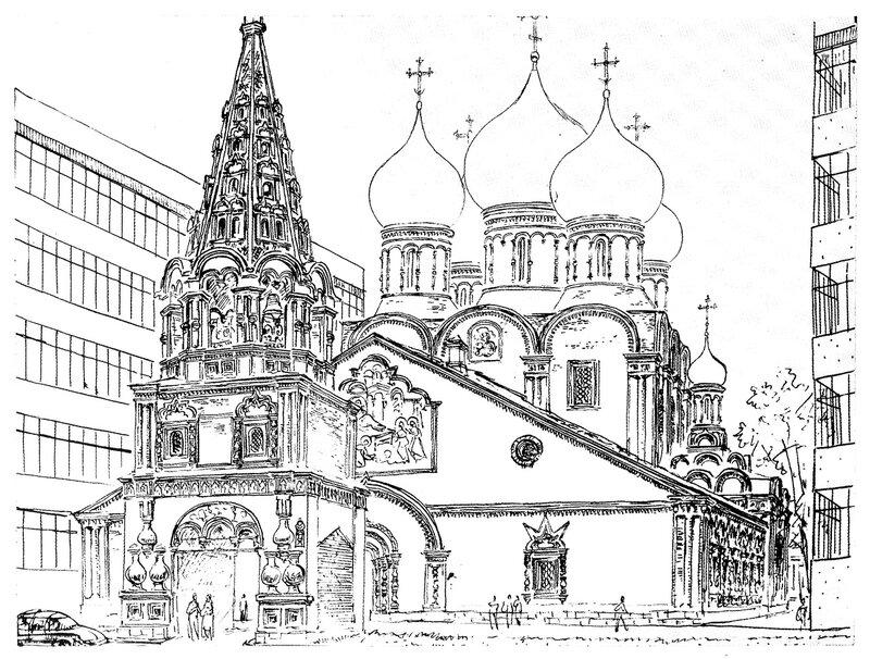 Церковь Рождества Пресвятой Богородицы в Бутырской слободе. К. К. Лопяло