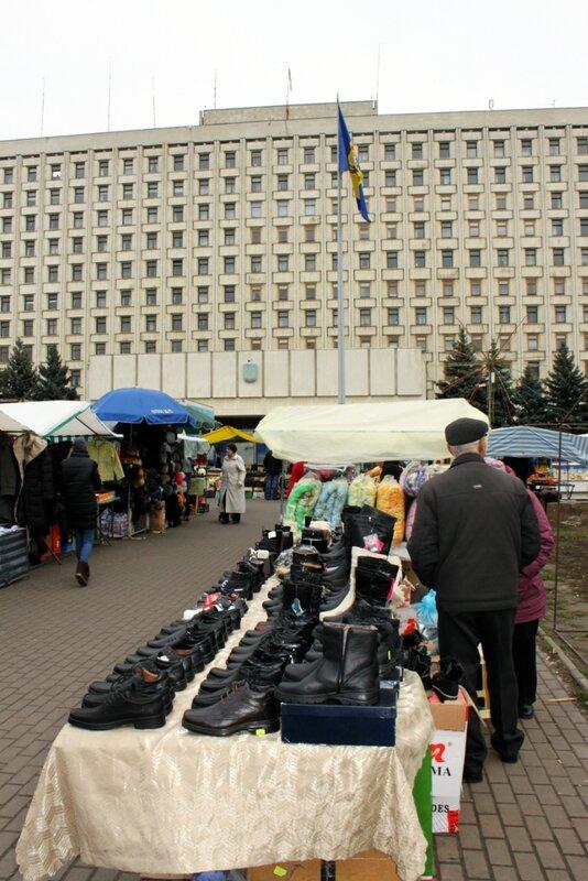Ярмарка под ЦИК Украины