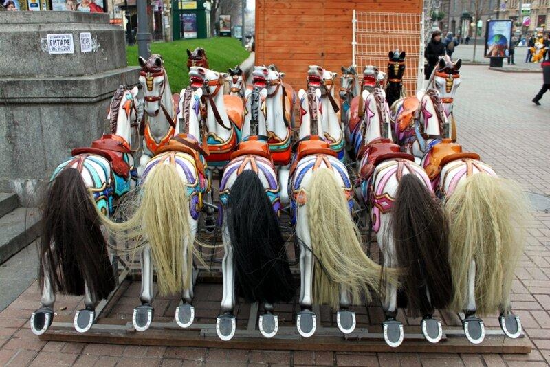 Карусельные лошадки