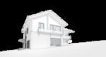 Домик в швейцарском стиле, двухэтажный дом на 10-ть спальных мест. Проектирование зданий, дизайн интерьера.