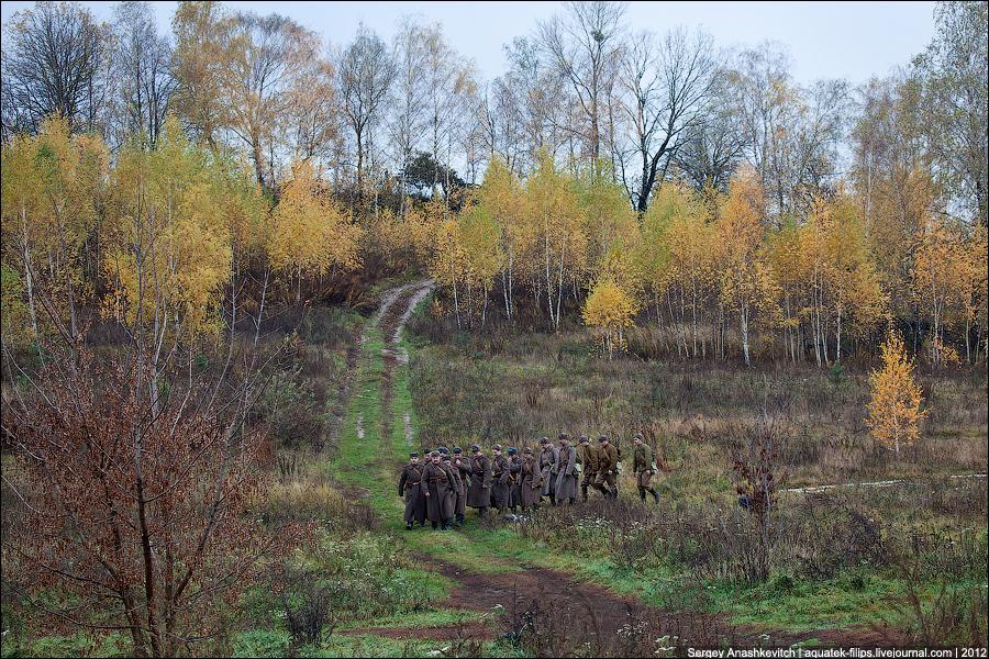 Осень 1943 года. Наши под Киевом