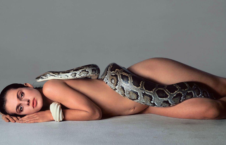 модель Nastassja Kinski / Настасья Кински, фотограф Richard Avedon / Эротика в Vogue, Россия спецвыпуск ноябрь 2012