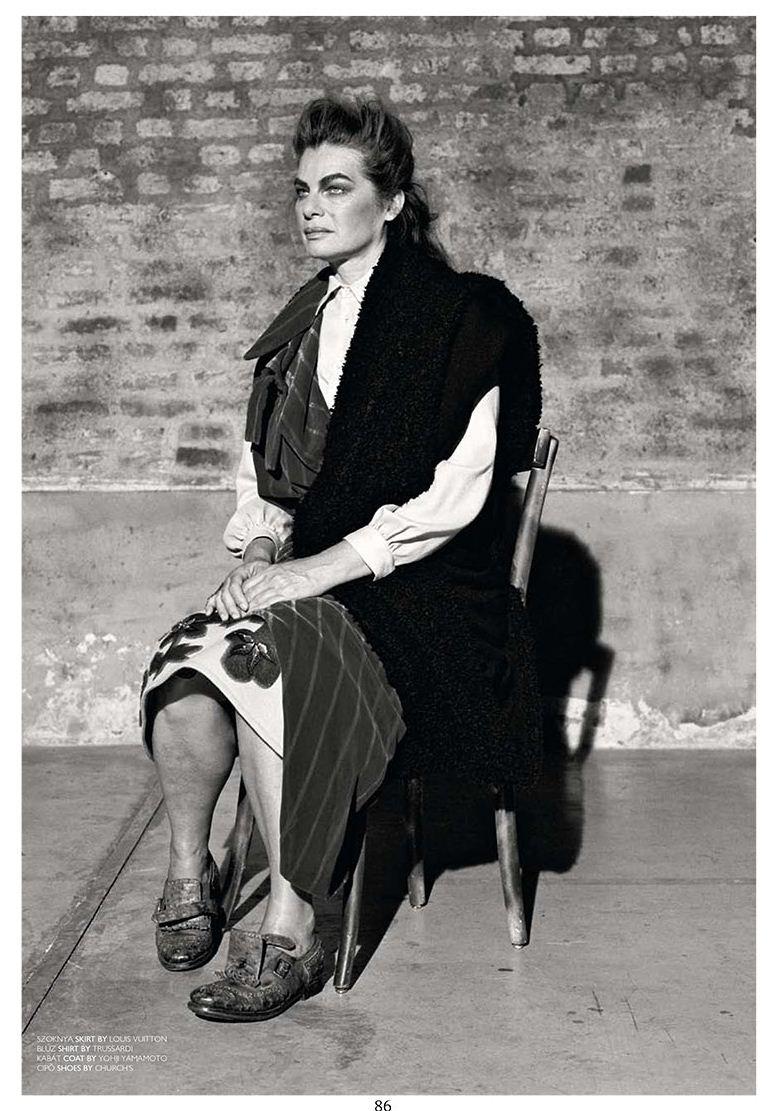 Cordula Reyer / Кордула Рейер, фотограф Branislav Jankic в журнале The Room, осень-зима 2012