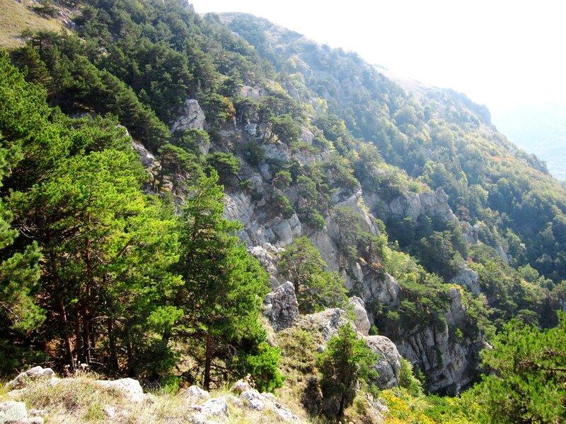 Скалы Северной Демерджи