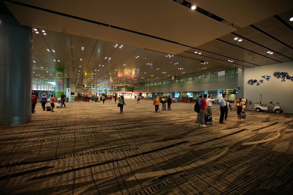 Аэропорт Чанги, Сингапур.