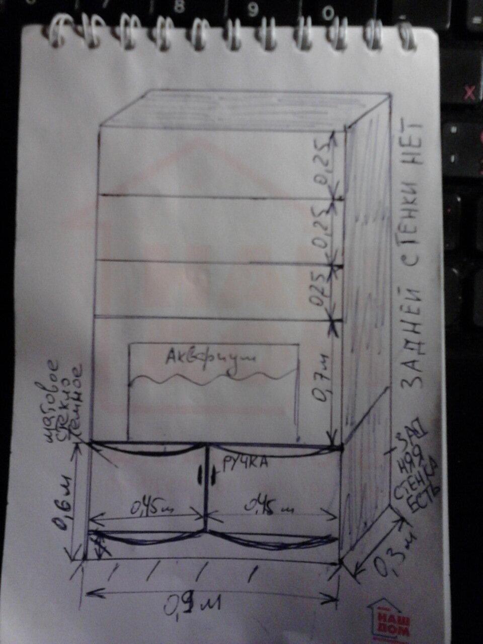 Объявляю тендер на изготовление книжного шкафа