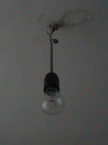 Фото 18. Установка временной точки освещения с помощью клеммников «Ваго-222» («Wago-222»).