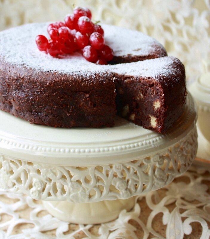 Шоколадный торт без муки!