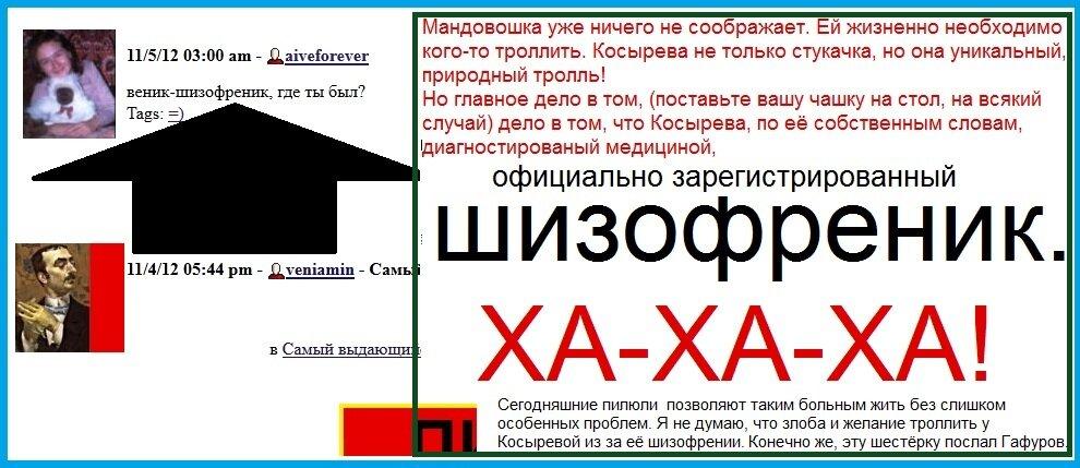 шизофреник-Косырева
