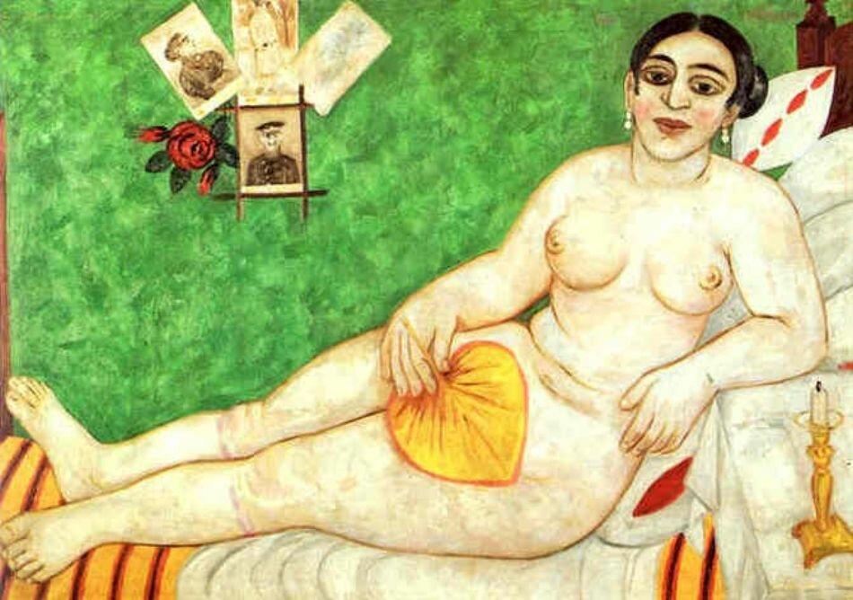 ЛАРИОНОВ, Еврейская Венера (Натурщица) 1912г.