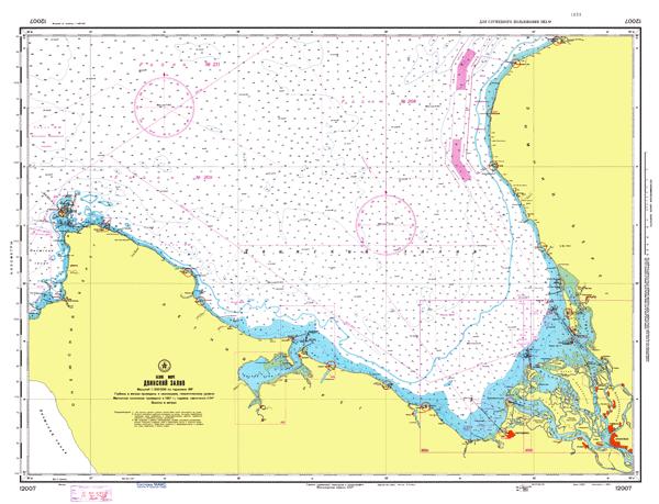 Двинский залив - морские навигационные карты на lenv.ru