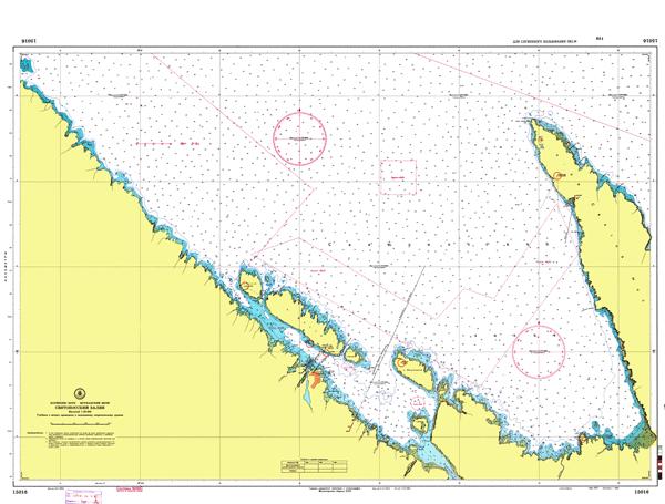 Святоносский залив - морские навигационные карты на lenv.ru