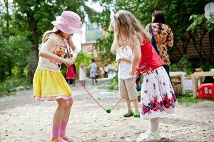 Летние игры в парках нашего города
