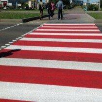 В Молдове появились пешеходные переходы нового типа