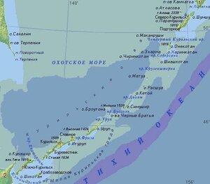 Землетрясение в 6,2 балла произошло у побережья Курилл