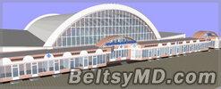 Реконструкция фасада Центрального рынка города Бельцы