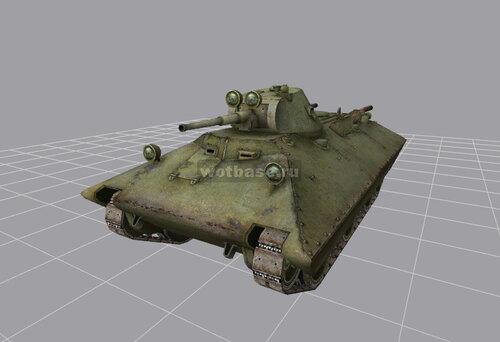 Легкий танк: БТ-СВ