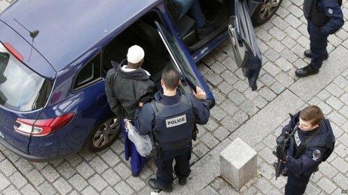 Аресты в Париже
