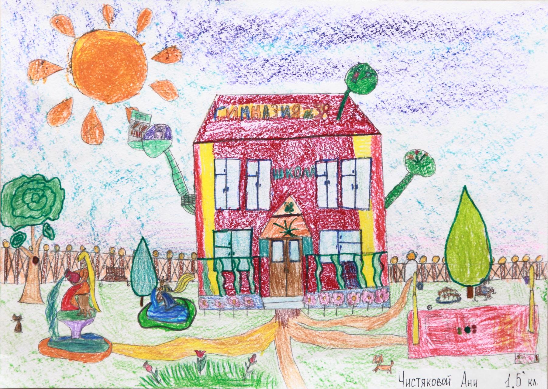 рисунки о школе