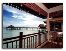 Малайзия. Лангкави. BerjayaLangkawi_Premier_Chalet_On_Water_-_View_from_Balcony
