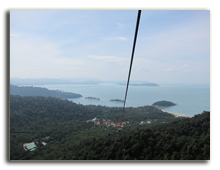 Малайзия. Лангкави. Канатная дорога (Langkawi Cable Car)