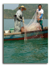 Малайзия. Лангкави. Four Seasons Resort Langkawi. Fisherman