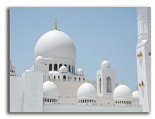 ОАЭ. Абу Даби. Мечеть шейха Заеда. Фото Daniel Leppens - shutterstock