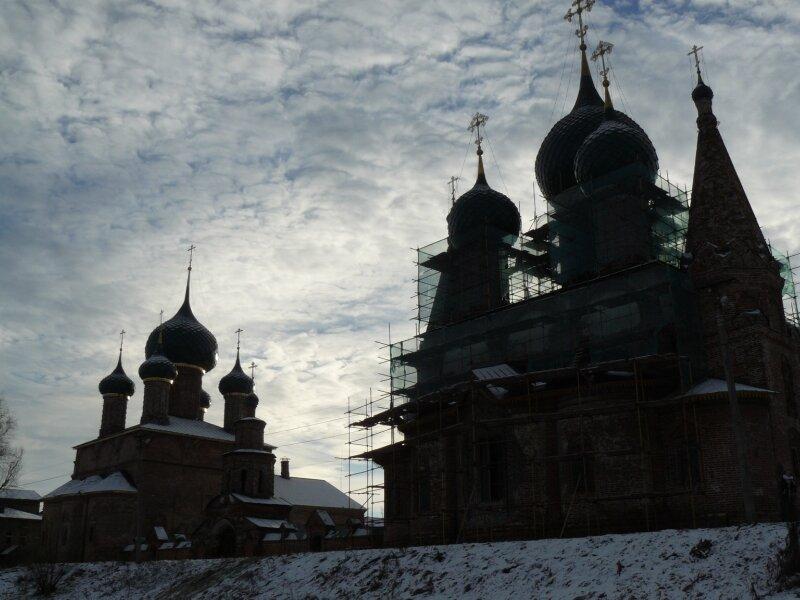 Храмовый ансамбль в Коровниках
