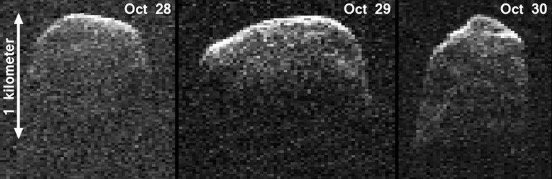 Получено изображение приближающегося к Земле астероида