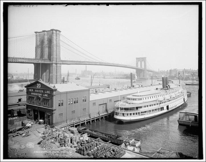 Нью-Йорк тогда и сейчас