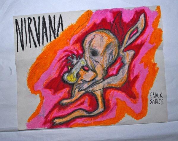 Картины Курта Кобейна