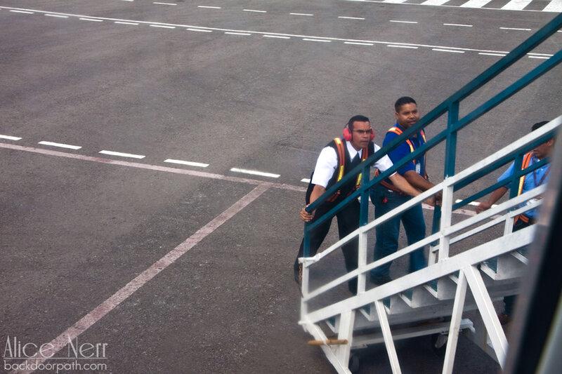 аэропорт в Сюдад Боливаре, Венесуэла