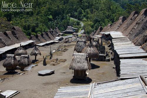 Bena village, Flores island, Indonesia