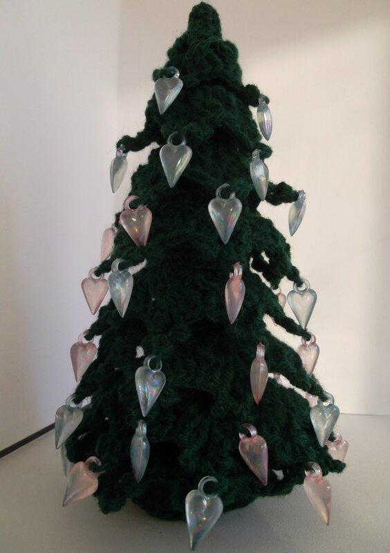 Новогодняя елка крючком.