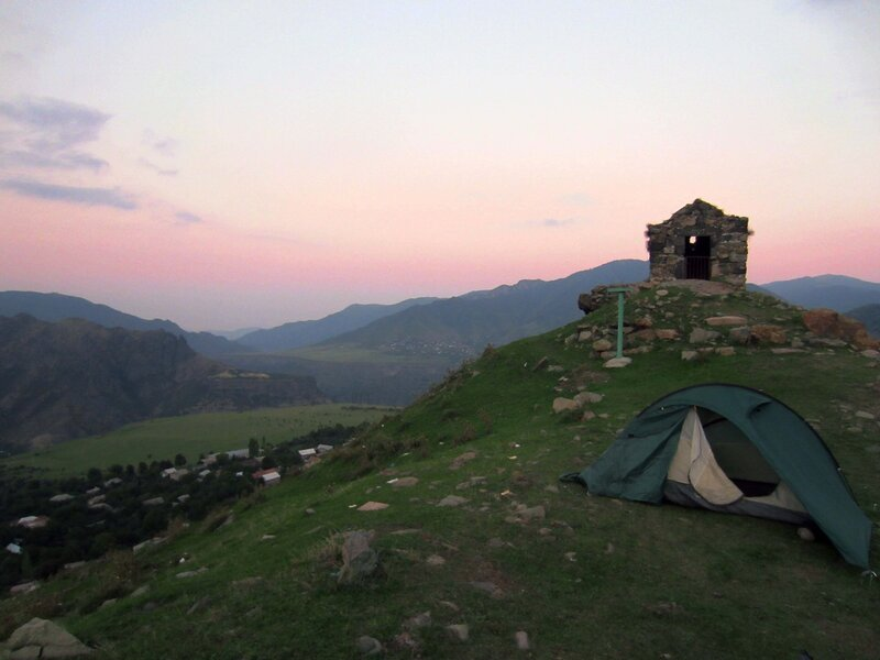 Алаверди, палатка