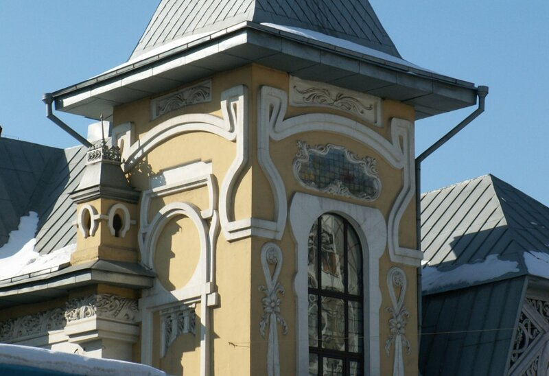 Москва, 3-я Рыбинская улица  22, стр. 4. особняк И. Л. Динга