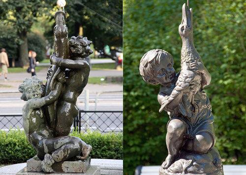 похожие фонтаны Таллин-Петербург