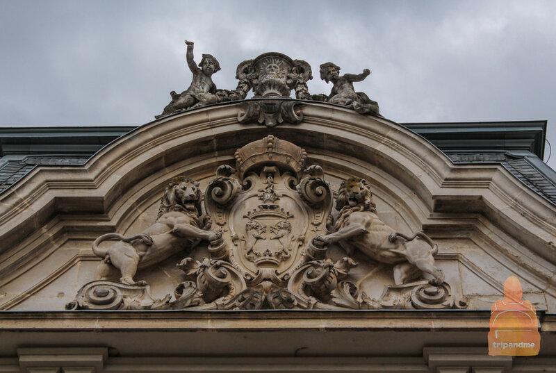 Здание построено в стиле барокко