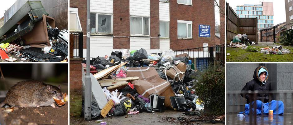 Обратная сторона Лутона, который был назван самым популярным местом проживания в Великобритании (20 фото)