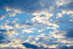 Облака на рассвете