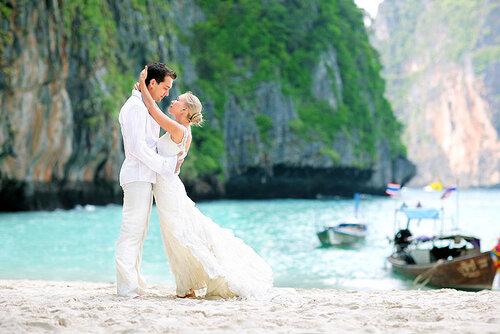Свадебная фотография в Таиланде с Алексеем Винокуровым