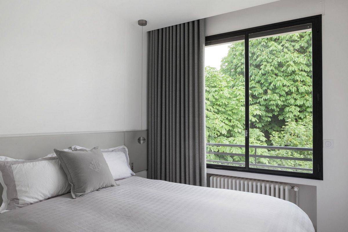 интересные планировки квартир, Agence Frederic Flanquart, квартиры европейской планировки, комфортные квартиры планировки, проект реконструкции квартиры