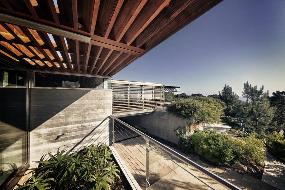 Atalaya House с видом на океан в Калифорнии