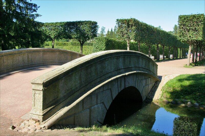 Екатерининский парк, Эрмитажный мост через Рыбный канал