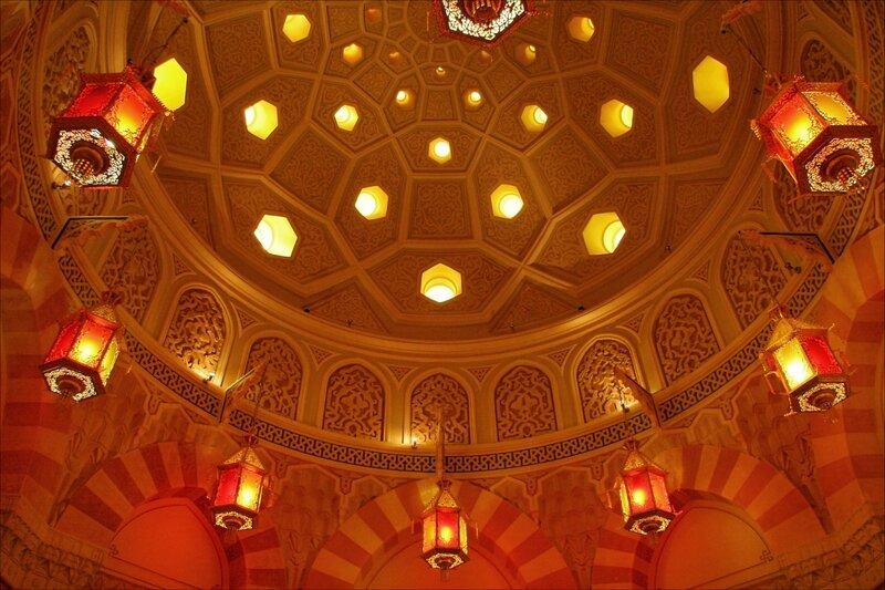 Турецкая баня в Екатерининском парке, большой купол в Купольном зале