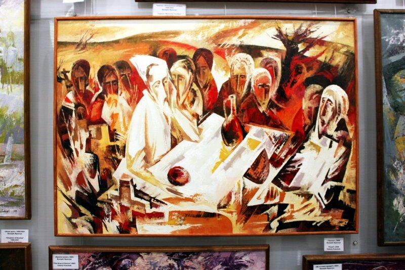 Художественная галерея музея голодомора