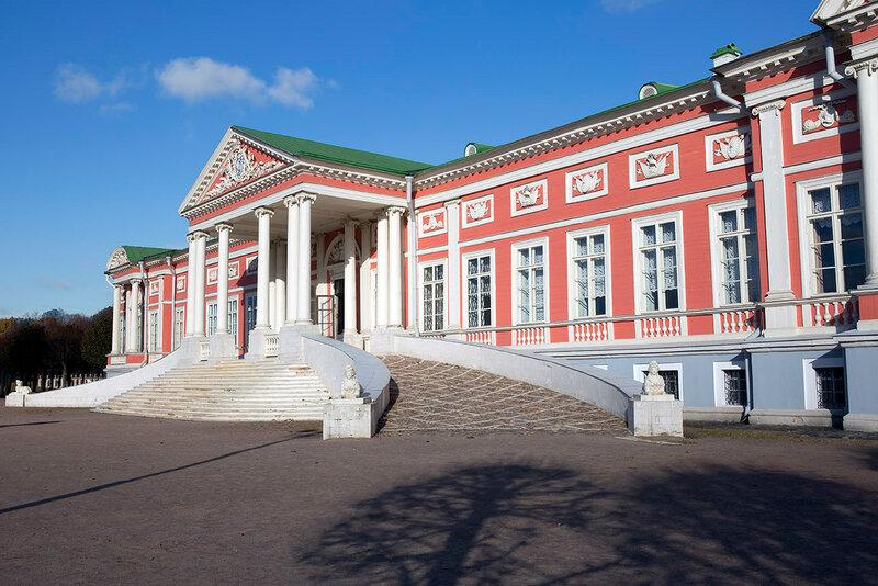 Москва. Дворец в Кусково.