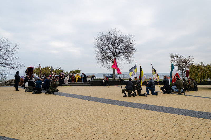 20121116 Крестный ход в память исхода Русской армии из Крыма в 1920 году