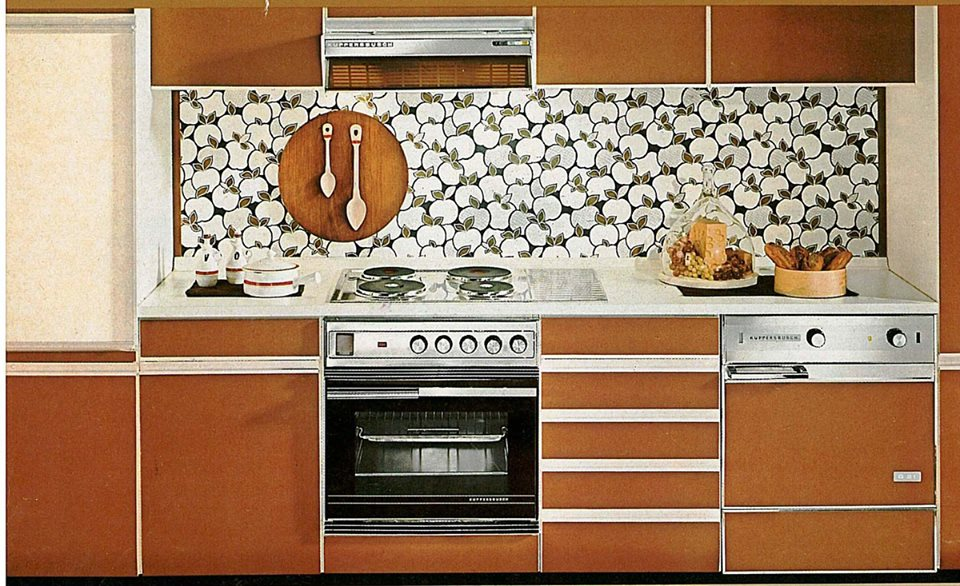 Kupersbusch кухонная техника, старая реклама, постеры