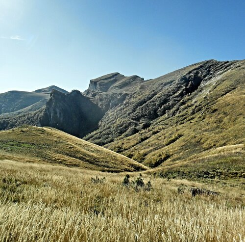 Малый Тхач, Кавказ, сентябрь 2012
